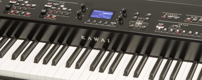A beautiful Kawai weighted keyboard.