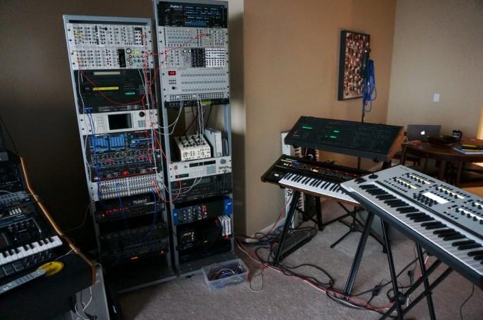Music instruments.