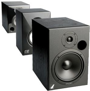 Studio audio monitor.