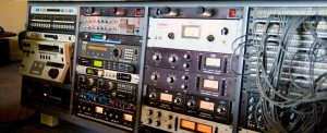 Audio outboard gear.