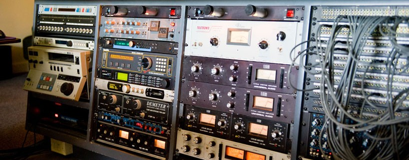Audio outboard gear.