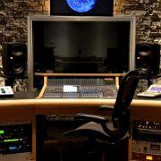 Uno studio di registrazione\