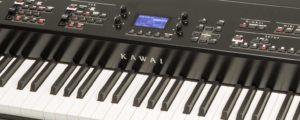 A beautiful Kawai weighted keyboard.