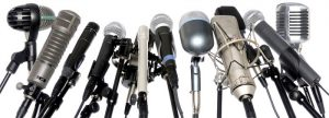 Some well known microphones.